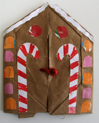 Gingerbread House Book
